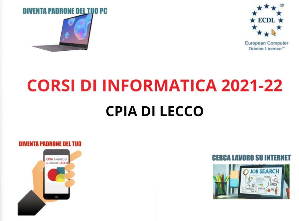 corsi di informatica 2021-22